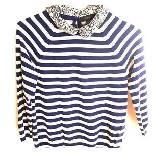 J Crew spring preppy sweater